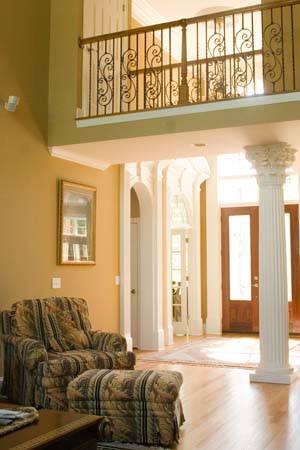 Foyer image of Westover House Plan
